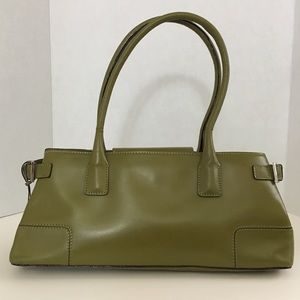 Adrienne Vittadini Lime Green Small Shoulder Bag